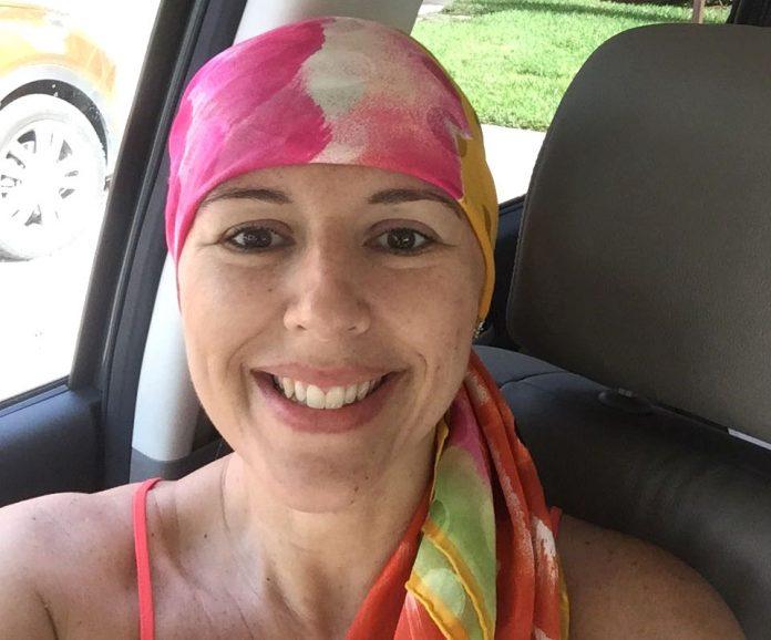 Renata Coimbra luta contra a leucemia
