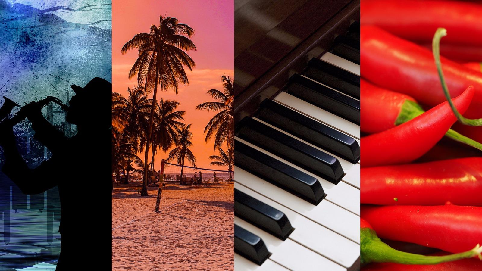 Classificações das peles negras - Blues, Calipso, Jazz e Spike