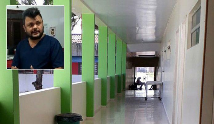 Paulo Roberto Penha Costa foi preso acusado de omitir socorro a recém-nascido em Pinheiro (MA)