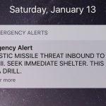 Falso alerta de míssil no Havaí deixa população em pânico