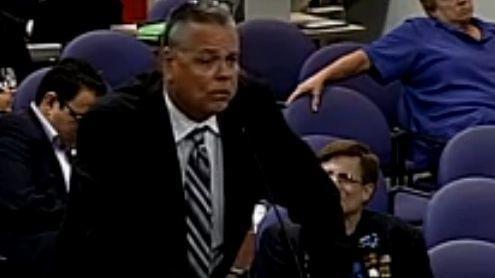 Scot Peterson foi afastado do cargo depois de acusações públicas do sheriff Scott Israel