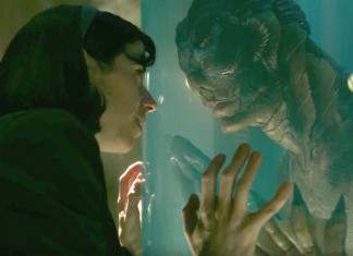 """Cena de """"Shape of Water"""" que concorre na categoria de melhor filme entre outras"""