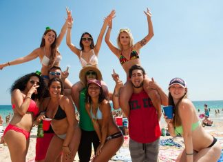 Spring Break em Fort Lauderdale é um dos mais animados dos EUA FOTO NY Daily News