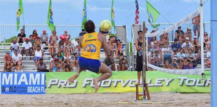 Futevôlei vai invadir as praias de Miami Beach nos dias 7 e 8 de abril