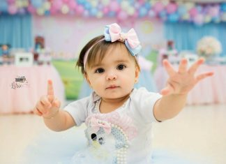 Isabella faz 1 aninho