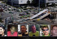 Seis pessoas morreram depois da queda de uma passarela em Miami-Dade