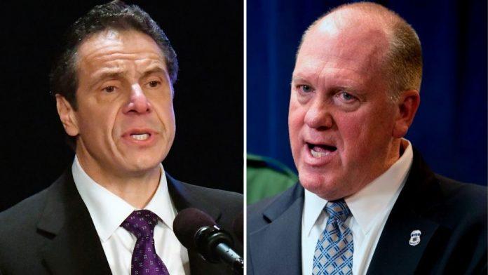 Governador de NY, Andrew Cuomo, está em pé de guerra com o diretor do ICE Thomas Homan