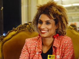 A Vereadora Marielle Franco (PSOL) foi assassinada no dia 14 de março