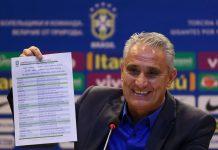 Tite tem confiança no grupo de jogadores selecionados que representará o Brasil na Copa do Mundo