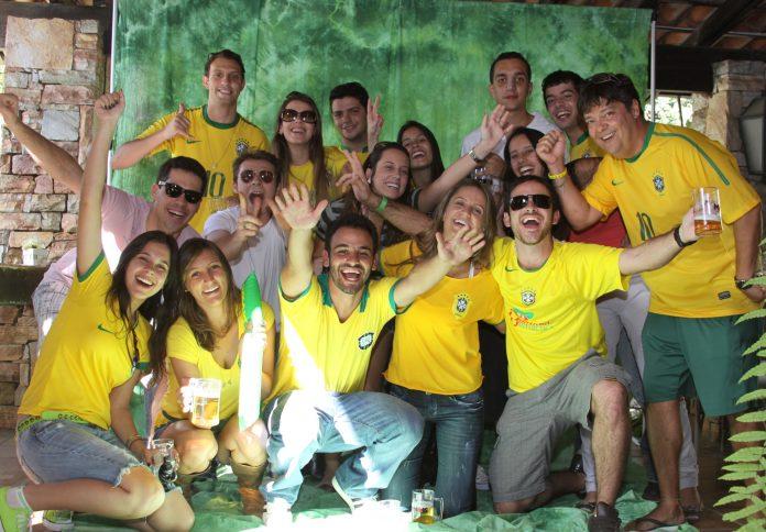Torcida brasileira na Copa de 2014