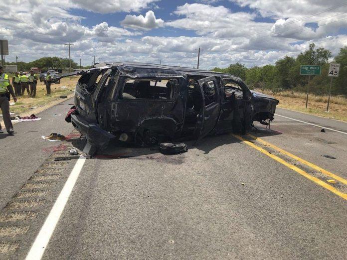 Ao menos 5 mortes foram registradas no acidente (Foto: Washington Post)