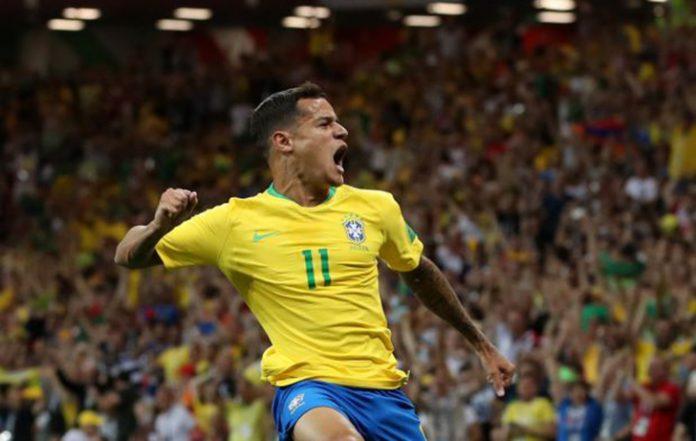 Golaço de Philippe Coutinho abriu o placar em Rostov na estreia da Seleção Brasileira no Mundial da Rússia