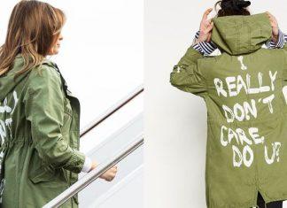 Jaqueta usada por primeira-dama em visita à fronteira causou polêmica