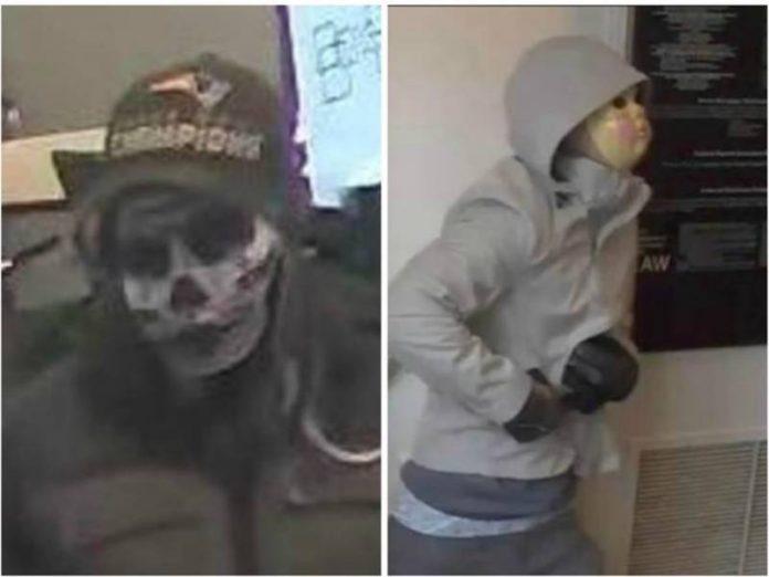 Na época do assalto, bandidos utilizaram máscaras de Halloween