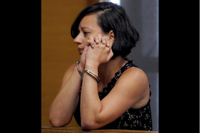 Patricia de Sena admitiu o assalto FOTO Metro West Dairy