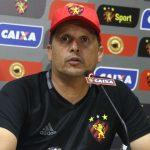 Técnico Claudinei Oliveira é o artífice da reação do Sport no Brasileirão