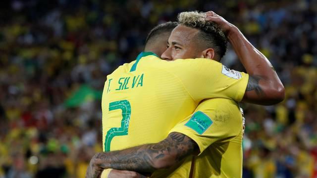 Thiago Silva e Neymar Foto REUTERS Grigory Duko