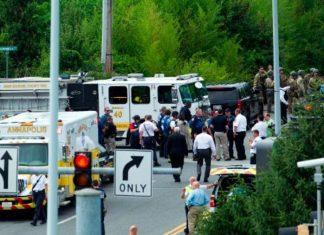 Tiroteio deixou pelo menos cinco mortos FOTO CNN