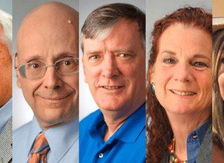 Vítimas do ataque contra redação do Capital Gazette, em Annapolis, no estado americano de Maryland Foto The Baltimore Sun via AP