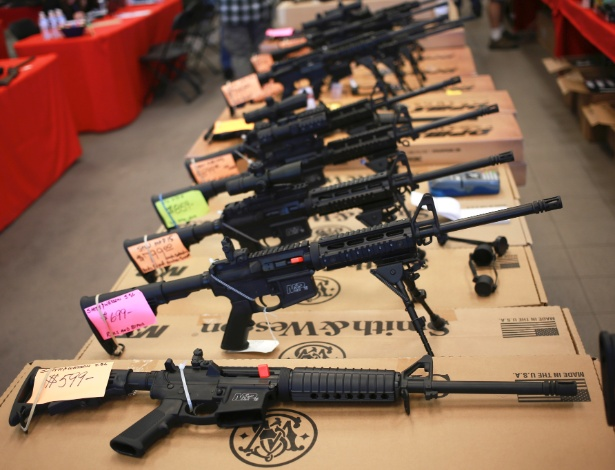 450 armas foram confiscadas na FL