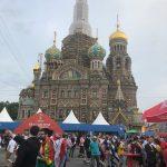 A Fun Fest de SP ficava ao lado da Catedral do Sangue Derramado