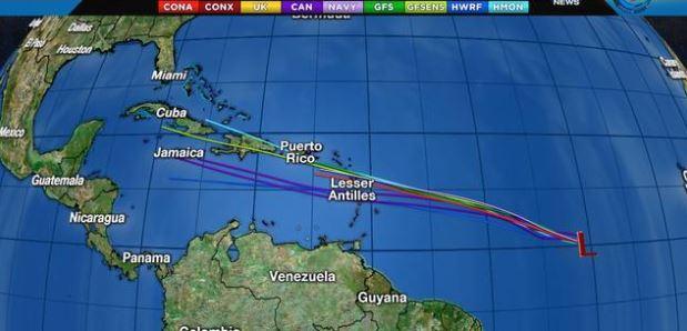 Beryl é o primeiro furacão da temporada