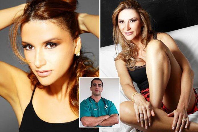 Lilian Calixto morreu após procedimento realizado pelo médico Denis César Barros Furtado, o Dr. Bumbum (no destaque)