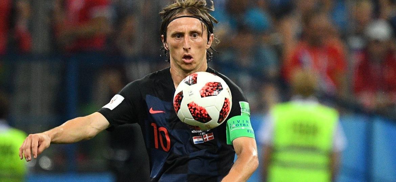 Luka Modric está desfilando seu talento pelos campos da Rússia