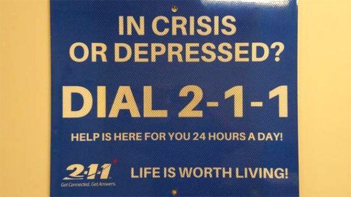 Número 211 será de ajuda a pessoas com pensamentos suicidas
