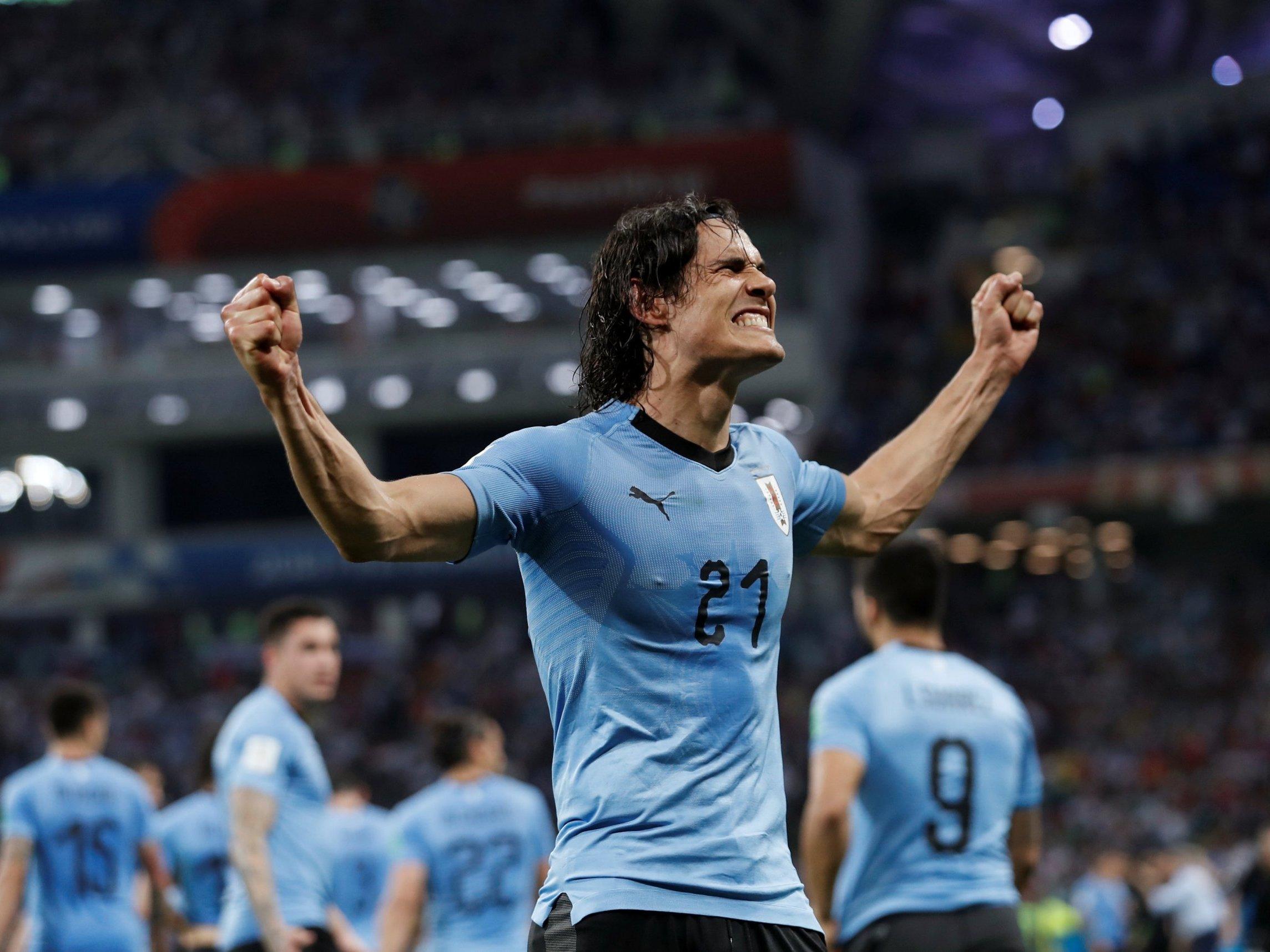Possível desfalque de Cavani enfraquece o Uruguai no jogo contra França