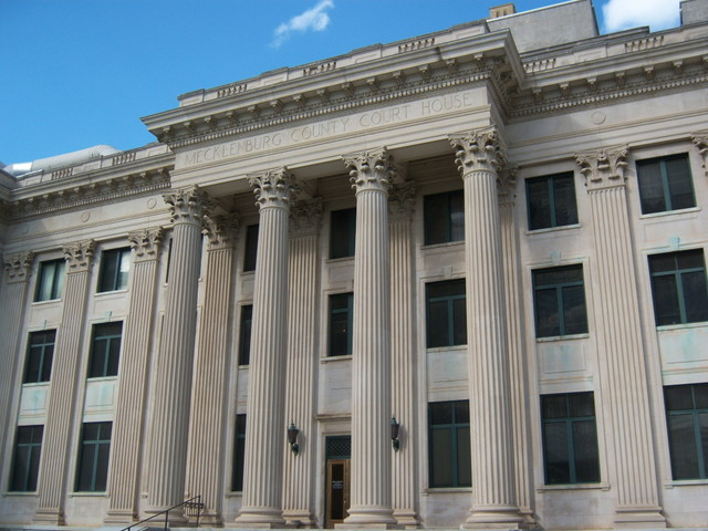 Tribunal em Charlotte