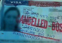 A brasileira teve visto cancelado após ser deportada dos EUA