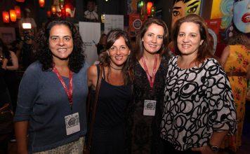 Adriana Dutra, Flavia Guimaraes, Viviane Spinelli e Claudia Dutra durante o Brazilian Film Festival of Miami do anos passado