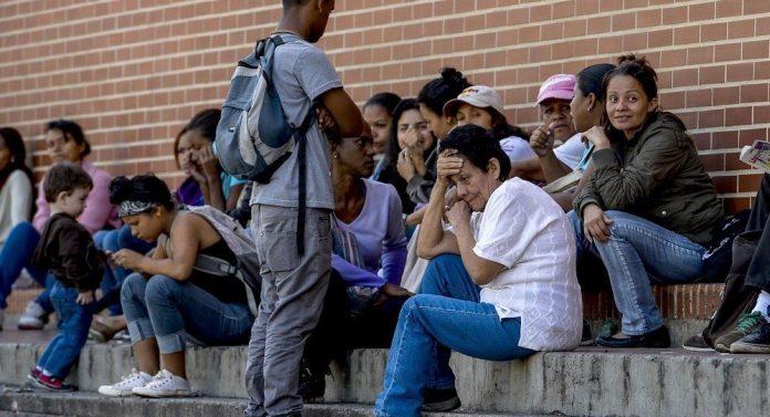Imigrantes venezuelanos chegam a Roraima