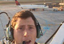 Richard Russell sequestrou um avião e se matou em seguida