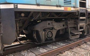 Trem descarrilou em Deerfield Beach