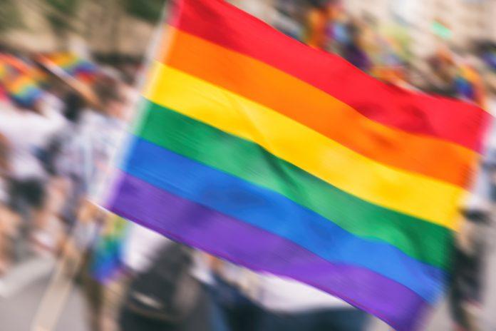 Bandeira da causa LGBT