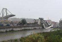 Ponte desaba na Itália (Luca Zennaro/ANSA via AP)