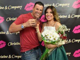Brian Martone e Christine Carneiro