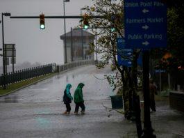 14-09 Furacão Florence causa alagamentos na Carolina do Norte, na quinta-feira (13) Foto Eduardo Muñoz Reuters