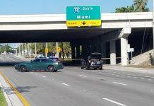 Homem foi atropelado enquanto andava de bicicleta na Hillsboro Boulevard FOTO Sunsentinel