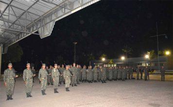 Militares farão trabalho de perfuração na Guiana
