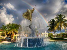 Stuart, Florida Sailfish Fountain