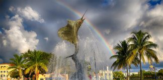 Stuart, Florida Sailfish Fountain