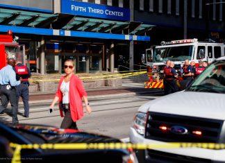 Um tiroteio em um banco em Cincinnati, terminou nesta quinta-feira (6) com cinco pessoas feridas e três mortos