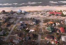 A pequena Mexico Beach foi devastada pelo furacão Michael