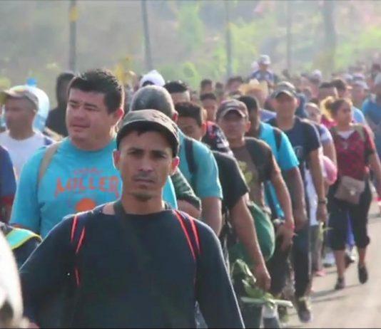 Caravana retoma caminhada na quarta-feira (24) FOTO CNN