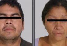 Juan Carlos e Patricia foram presos