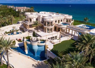 Mansão é uma das mais caras dos EUA Foto Concierge Auctions