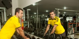 O personal trainer Marcus Paulo